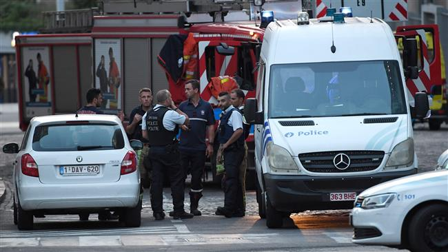 Police shoot attacker following blast at Belgian train station