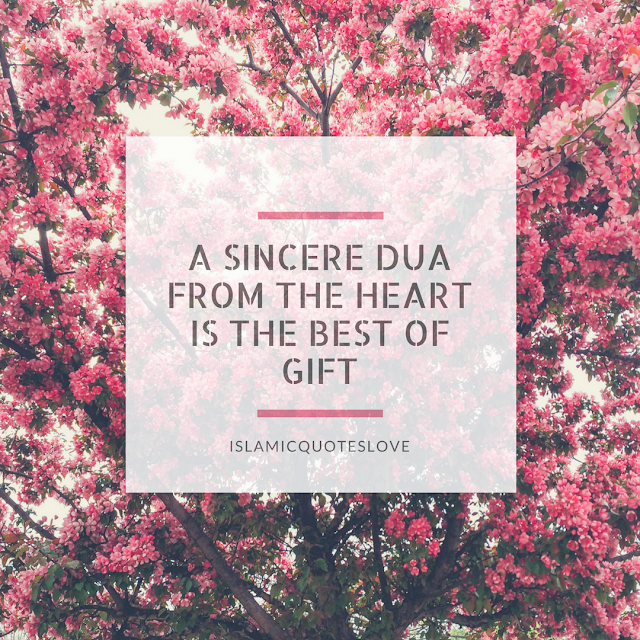 If we only knew the power of dua. No matter what you're going through - ask Allah (SWT) to help you through it.