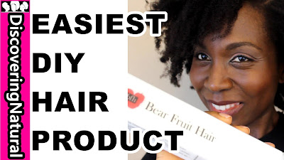 HOW TO MAKE NATURAL HAIR PRODUCTS, EASILY | Bear Fruit Hair