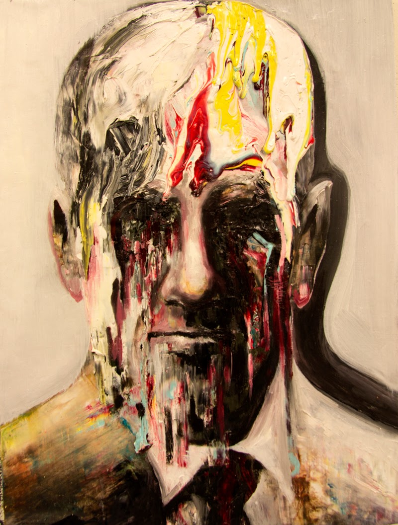 Portrait and Figurative Paintings by Bergthor Morthens.