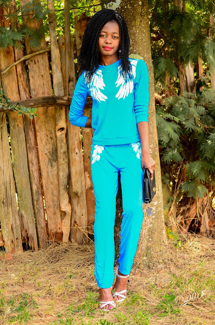 How To Wear A Sweatsuit With Heels For A Casual Chic Look