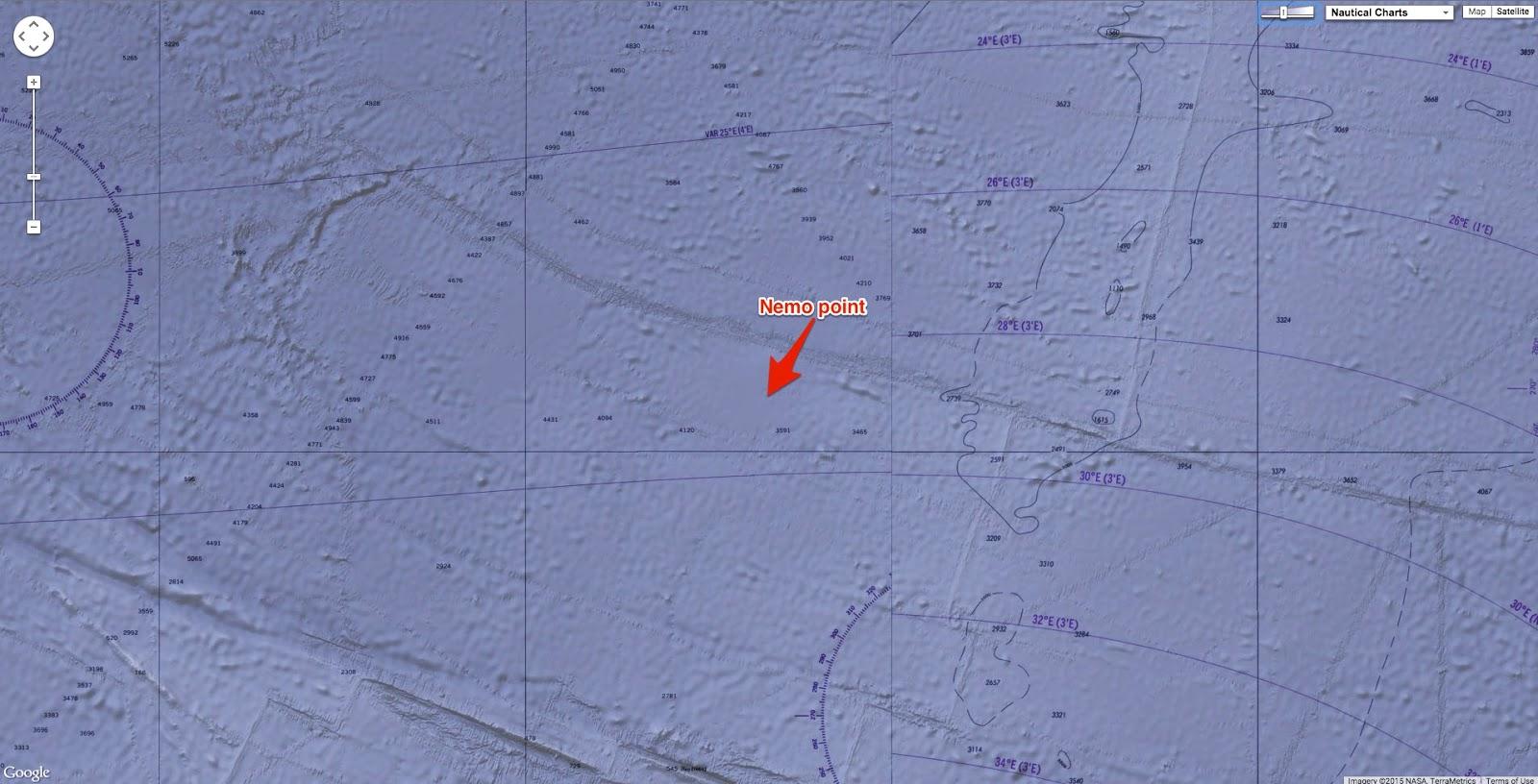 Geogarage Blog Where Is Point Nemo?