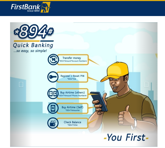 How To Check First Bank Account Number On Phone