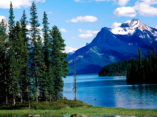 Canada Alberta National Park Landscape HD Wallpaper