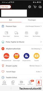 Pengaturan COD Shopee via Aplikasi Android 1