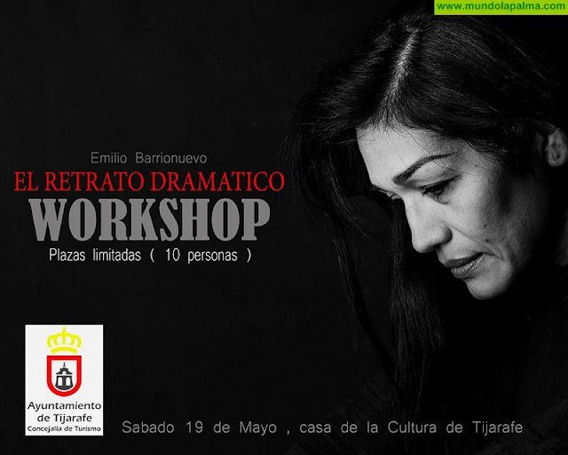 """Workshop """"El Retrato Dramático"""" con Emilio Barrionuevo en Tijarafe"""
