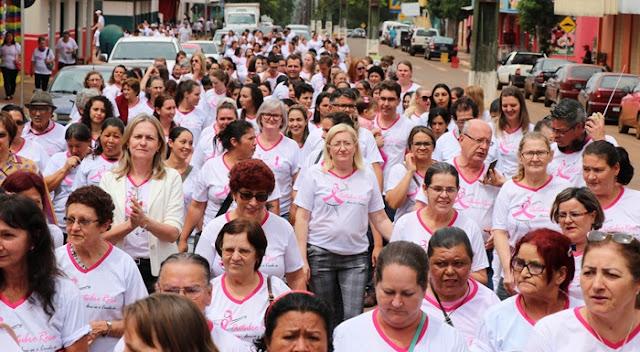Manoel Ribas realiza atividades da campanha Outubro Rosa