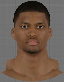 NBA 2K13 Rudy Gay Cyberface Patch