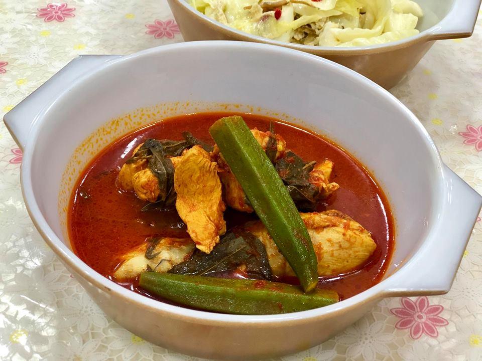 Asam Pedas Ayam Tanpa Belacan Untuk Si Anak Aku Sis Lin