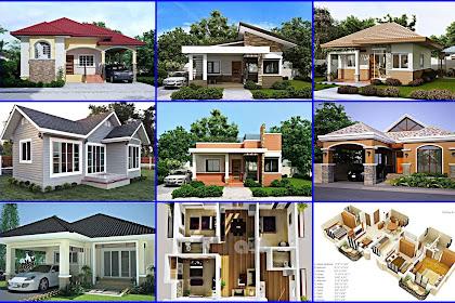 Download Desain Pagar Rumah Minimalis Type 45 PNG