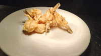 Fried Prawns in plate healthy dinner Recipe