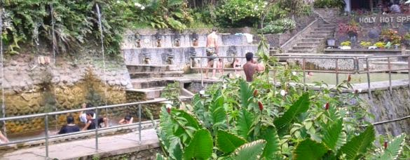 Singaraja Banjar Holy Hot Springs - Holy Hot Springs Water, Banjar village, Buleleng, Singaraja, Norhern Bali