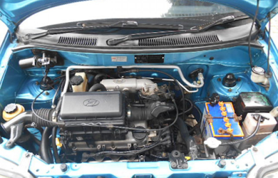 Foto Mesin Hyundai Atoz Facelift