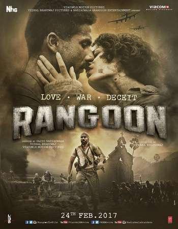 Rangoon 2017 Full Hindi Movie HDRip Download