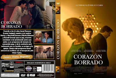 CORAZON BORRADO - BOY ERASED - 2018 [COVER DVD]