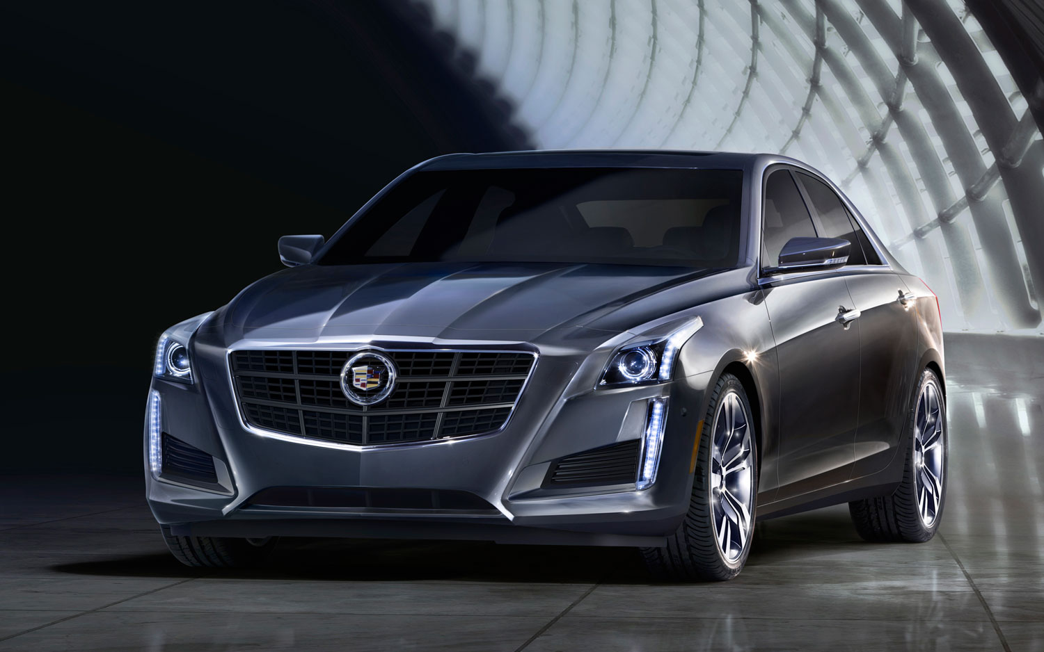 Cadillac Cts Front Left View