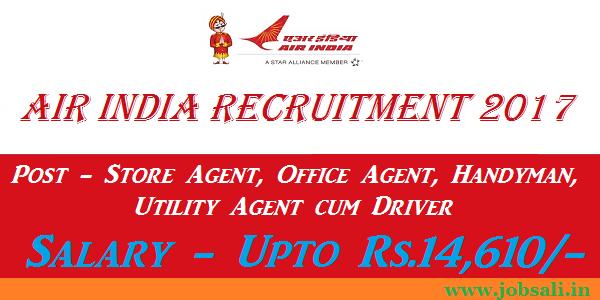 Air India Careers, Air India Vacancy, Air India Jobs in Mumbai