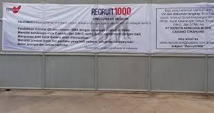 Job Loker SMA/SMK Cikarang PT Kereta Kencana Murni