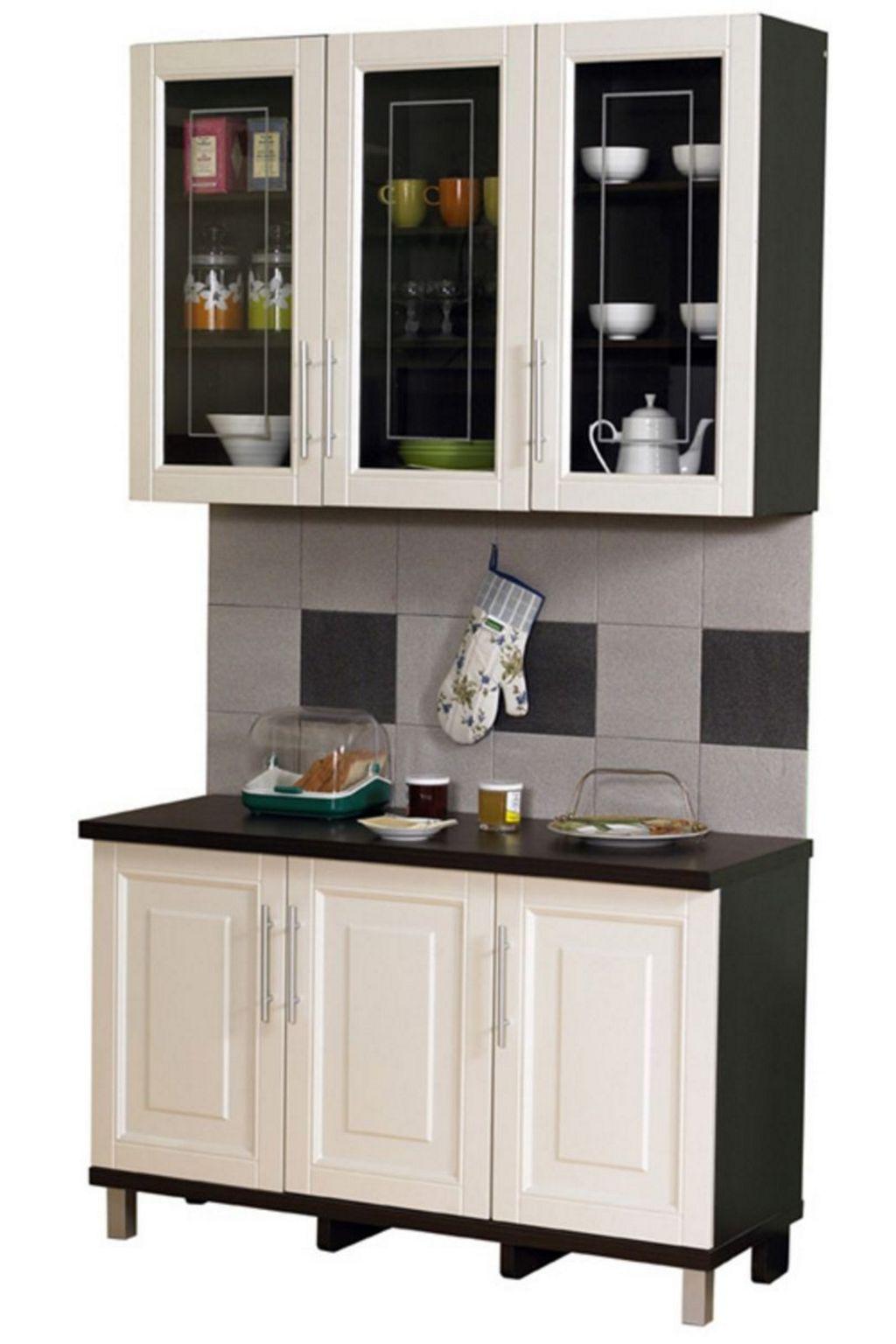 mengatur desain kitchen set mungil tampak bagus