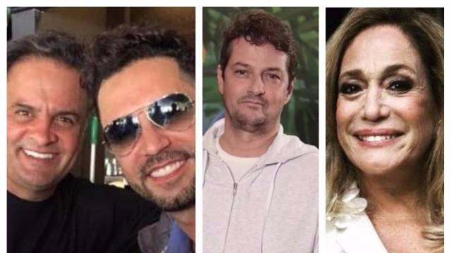 Latino, Marcelo Serrado, Susana Vieira... Famosos se manifestam sobre Aécio e Temer