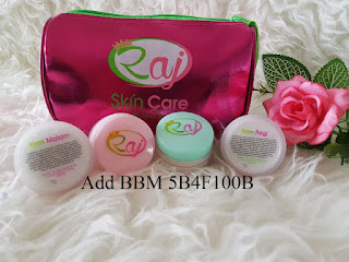Raj Skincare Original Kemasan Baru BPOM