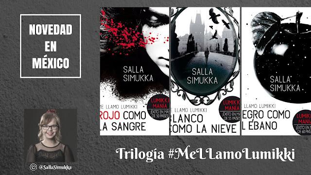 [NOVEDAD] Trilogía Me llamo Lumikki de Salla Simukka