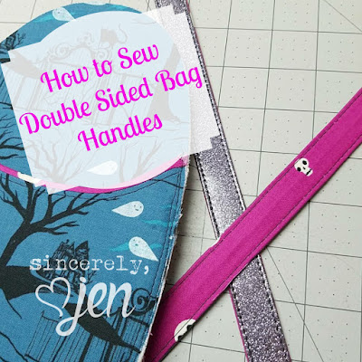 Double Sided Bag Handles Tutorial
