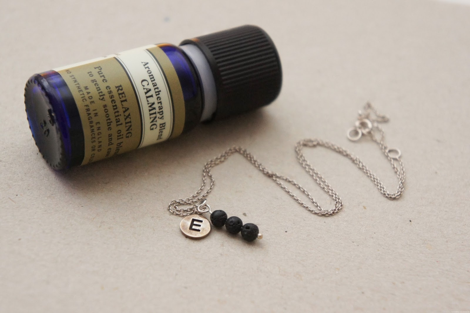 lava bead aromatherapy essential oil diffuser necklace diy
