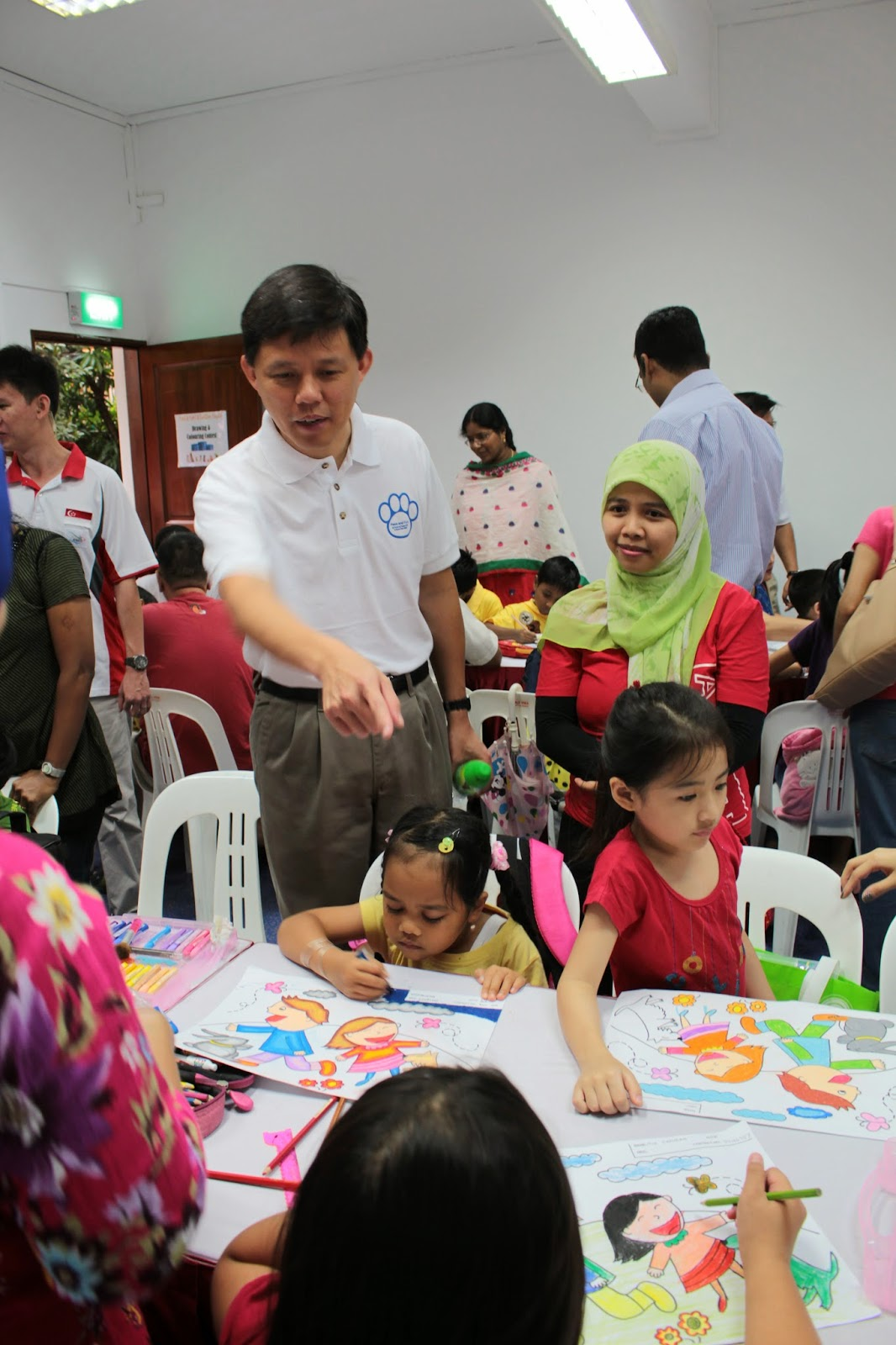 Mr. Chan Chun Sing, Minister for Social and Family Development