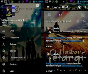 BBM Mod Laskar Pelangi V3.0.1.25 Apk