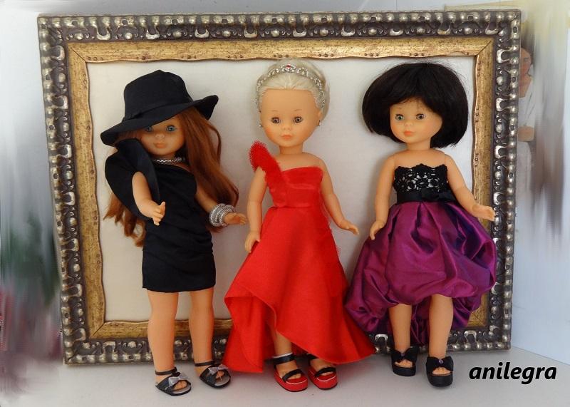 28001c523f9 Estos son los tres primeros vestidos de la colección de vestidos de Alta  Costura de grandes diseñadores españoles de Nancy