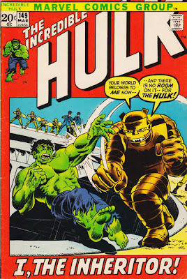 Incredible Hulk #149, the Inheritor