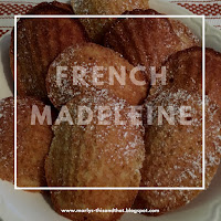 French Madeleines, are they a cookie or a cake... you decide.