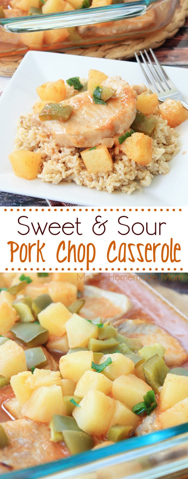 sweet and sour pork chop casserole