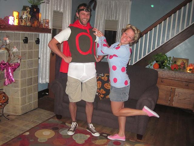 Life is Sweet*: Quail Man & Patti Mayonnaise Quailman And Patty Mayonnaise Costume