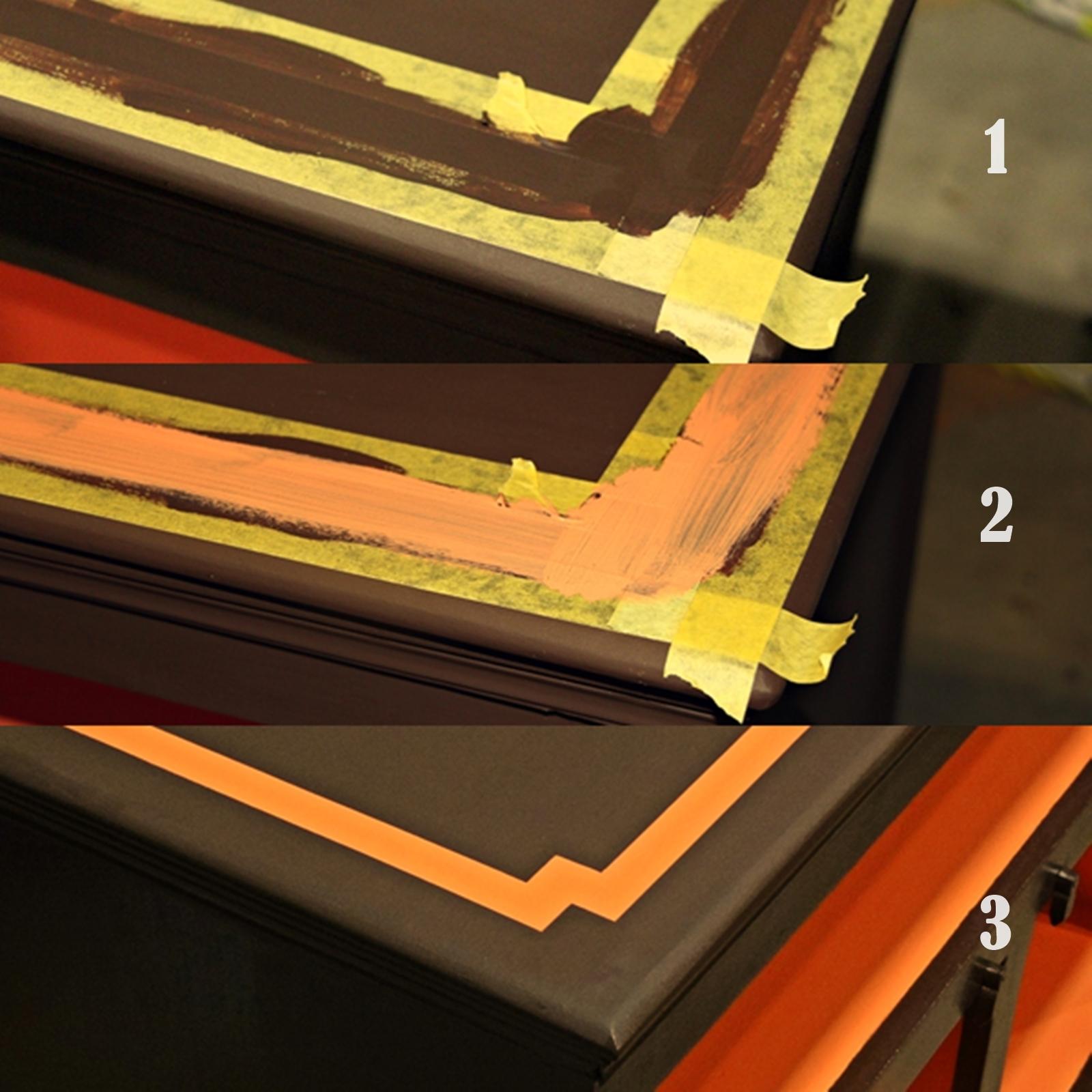 Jak malować pasy na scianie