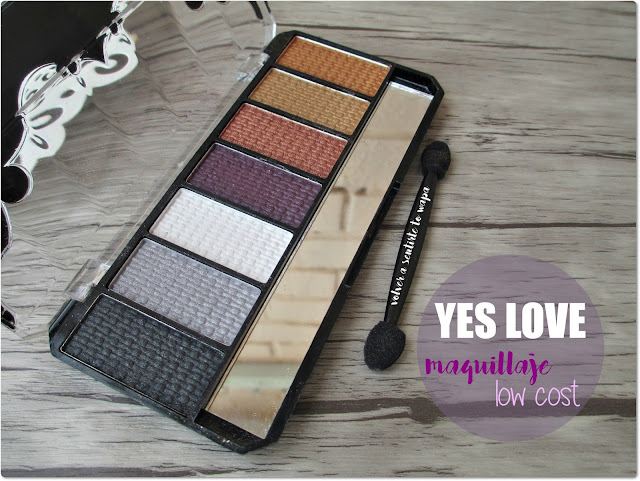 Maquillaje Low Cost: Sombras de Ojos de Yes Love