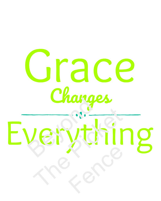 free printable on giving grace to others