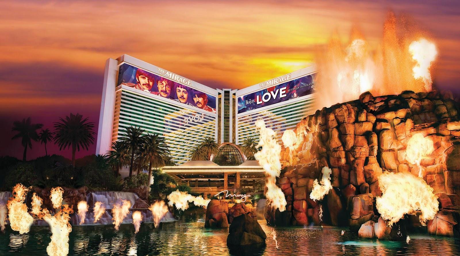 Atrações do hotel The Mirage em Las Vegas