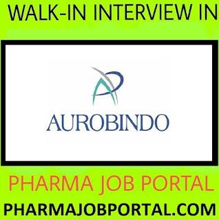 AUROBINDO PHARMA LTD  Urgently Hiring M.Sc, B.Pharm, M.Pharm, FRESHERS - Apply Now