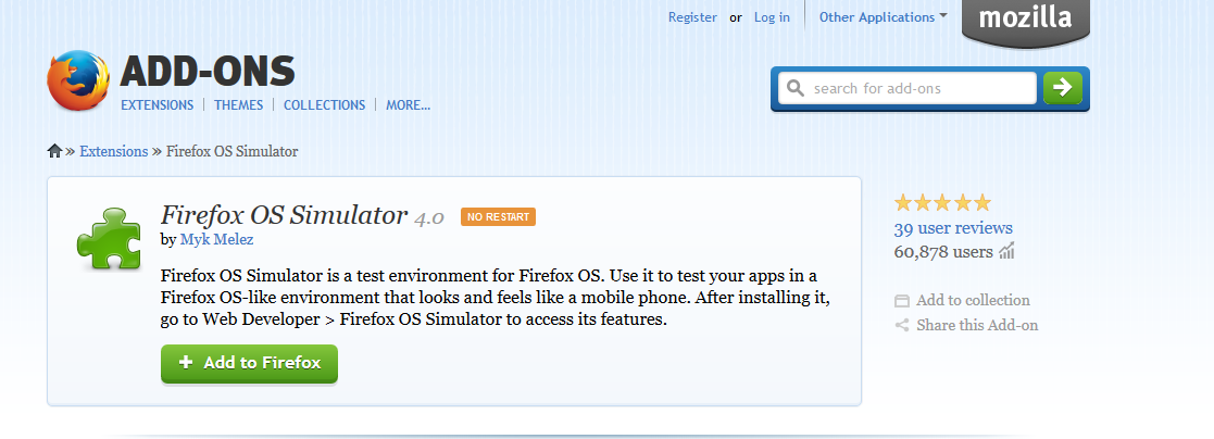 Install Firefox OS in your PC