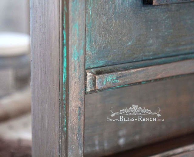 Copper Painted Patina, Bliss-Ranch.com
