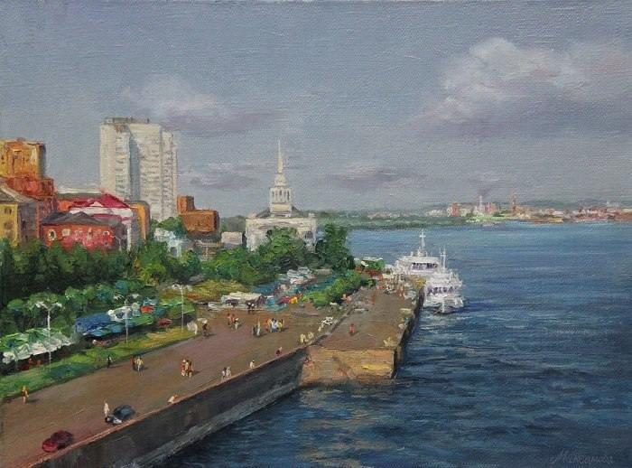 Российский художник. Максимова Алла