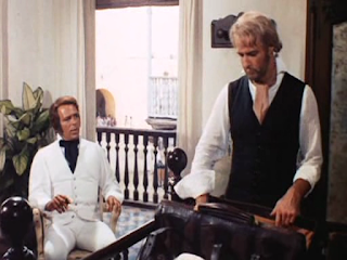 Marlon Brando as Sir William Walker, Italian multi-utility actor Renato Salvatori as Teddy Sanchez