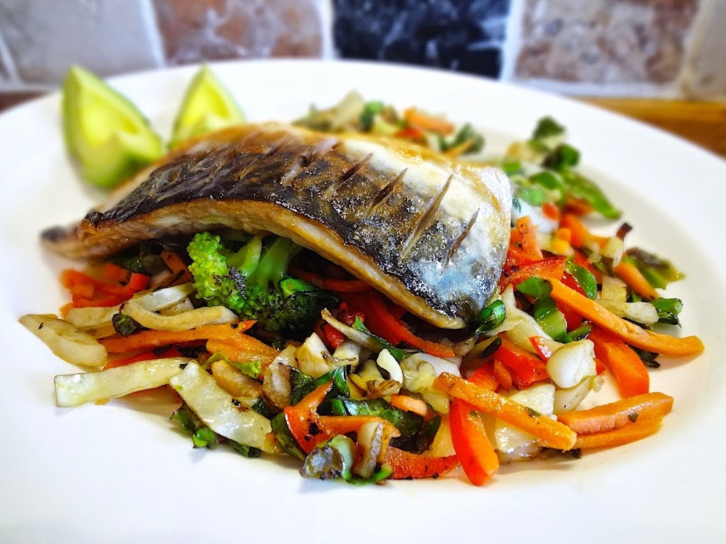 Grilled Mackerel & Stir Fry Vegetables