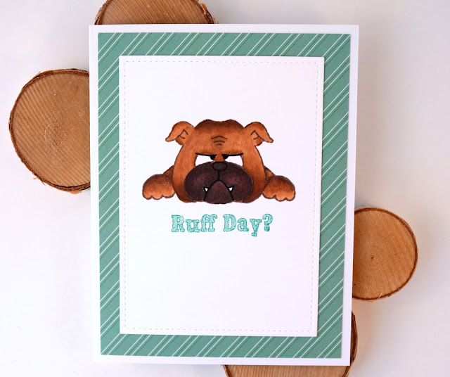 Encouragement Card featuring Dog by Jess Gerstner for Gerda Steiner Designs