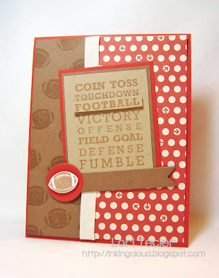 Football Time--Designed by Lori Tecler-Inking Aloud-stamps from Clear and Simple Stamps