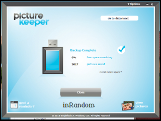 using the picture keeper step 6