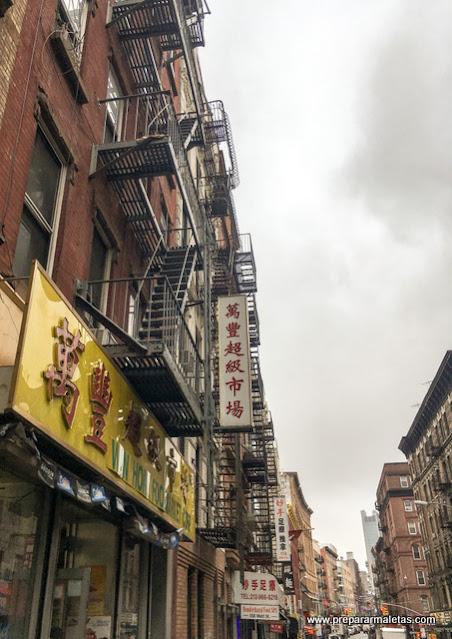 calles de chinatown nueva york
