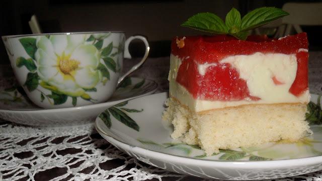 Ciasto z arbuzem. przepis na przepyszny sernik arbuzowy. Pani domowa